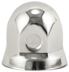 "1-1/4"" Nut Cover with Flange - For Dayton Wheels"