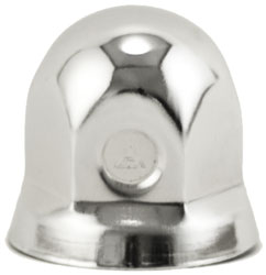 """1-1/4"""" Nut Cover with Flange - For Dayton Wheels"""