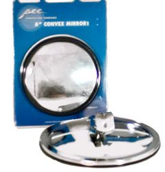"6"" Convex Mirror Center Mount"