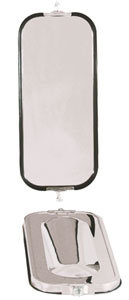 Heavy-Duty OEM-Style with Bubble Back West Coast Mirror