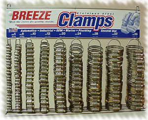 6210 Clamp Assortment with Rack