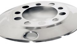 "Stud-Piloted Front Wheel Cover for 22.5"" Wheels"