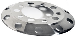 "Stud-Piloted Front Wheel Cover for 20"" Wheels"