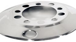 "Hub-Piloted Front Wheel Cover for 22.5"" Wheels"