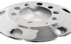 "Hub-Piloted Front Wheel Cover for 24.5"" Wheels"
