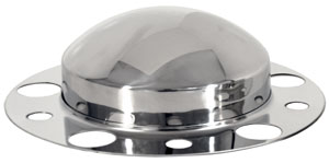 Front Axle Cover Kit with Non-Removable Baby Moon Cap