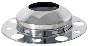Hubdometer Front Axle Cover Kit with Removable Cap