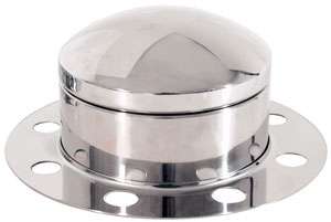 Tall Size Front Axle Cover Kit with Removable Cap