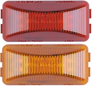 "8 LED 2-1/2"" Rectangular Clearance Marker Light"