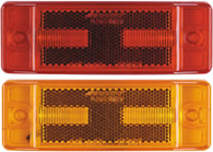 "8 LED 2"" x 6"" Rectangular Clearance Marker Light"