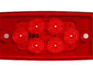 """6 LED 3/4"""" x 4"""" Clearance Marker"""