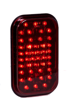 "44 LED 5"" Rectangular Stop/Tail/Turn Light"