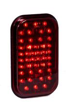 "44 LED 5"" Rectangular Stop/Tail/Turn Light"