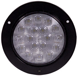 "4"" Round Flange Mount Back-Up Light with 18 LEDs"