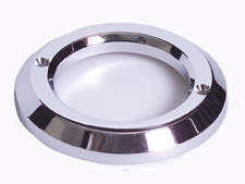"2"" Chrome Plastic Grommet Cover"