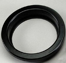 "4"" Black Vinyl Grommet"