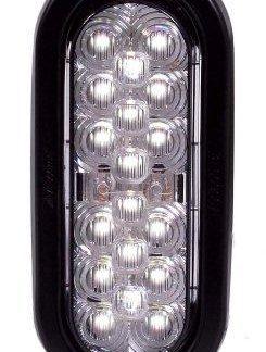18 LED Oval Backup Light Grommet Mount