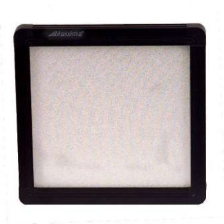 "4"" X 4"" Flat Panel Series Interior Light - Black Finish 18 LED's"