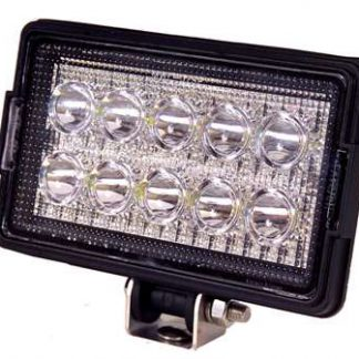 Rectangular Heavy Duty Work Light - 1500 Lumens - 10 LED's