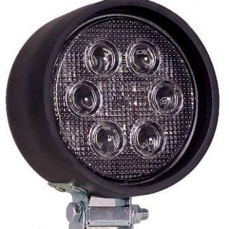 "4"" Round Rubber Housing Heavy Duty LED Work Light"