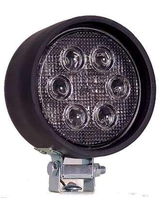 "4"" Round Rubber Housing Heavy Duty LED Work Light"