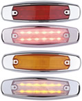 "12 LED 6"" Clearance Marker Light"