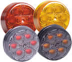 "6 LED 2"" Round Clearance Marker"