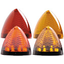 "8 LED 2 1/2"" Beehive Clearance Marker"