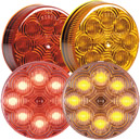 "8 LED 2 1/2"" Round Clearance Marker"