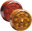 "9 LED 2"" Round Clearance Marker"