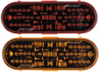 """42 LED 6"""" Oval Stop/Tail/Turn or Park/Turn Lights"""