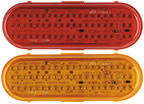 """60 LED 6"""" Oval Stop/Tail/Turn or Park/Turn Lights"""