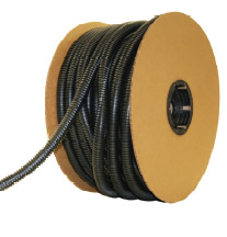 Black Polyethylene Wire Loom Reel