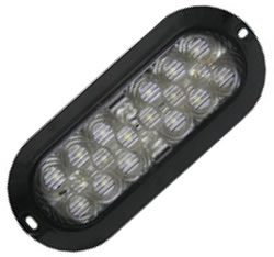 18 LED Surface Mount Oval White Back Up Light